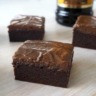 Kahlua Brownies Recipe