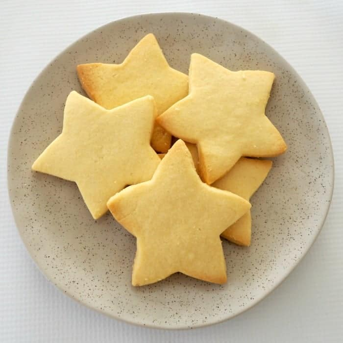 3 ingredient shortbread to make in your Thermomix