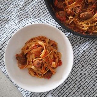 Spaghetti and Cheats Meatballs