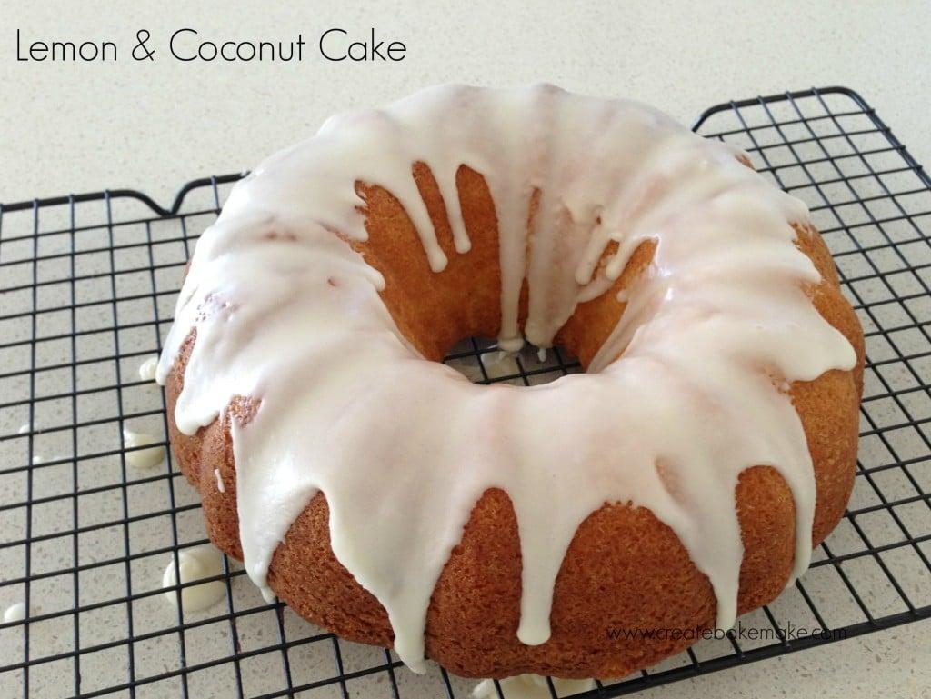 Lemon Sour Cream Cake Recipe Donna Hay