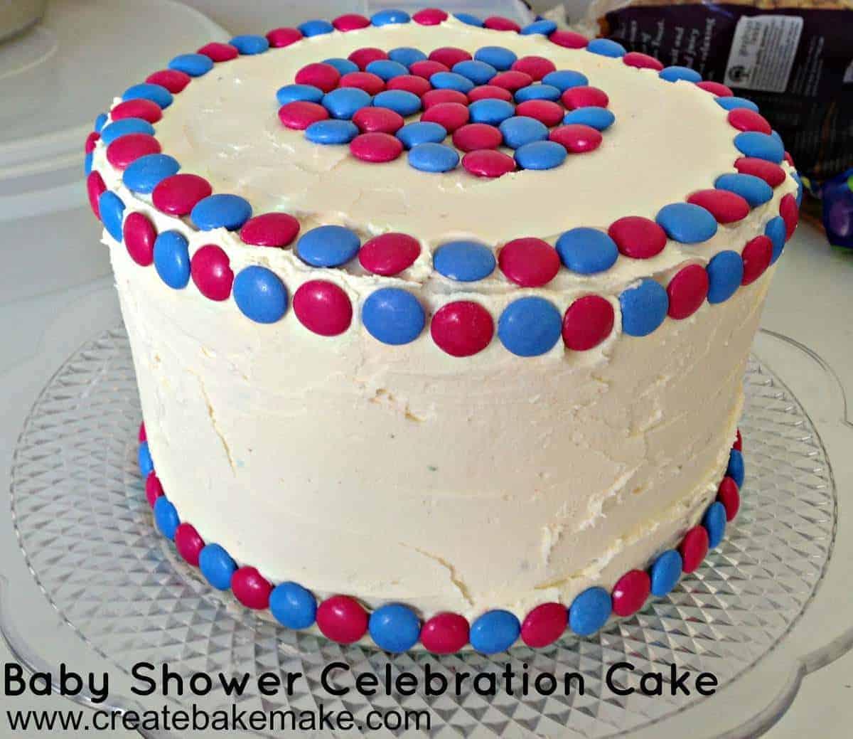 Baby Celebration Cake