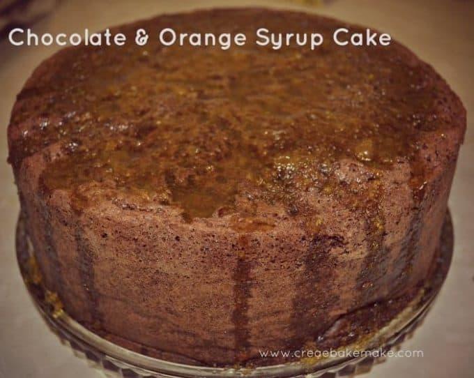 Chocolate and Orange Syrup Cake