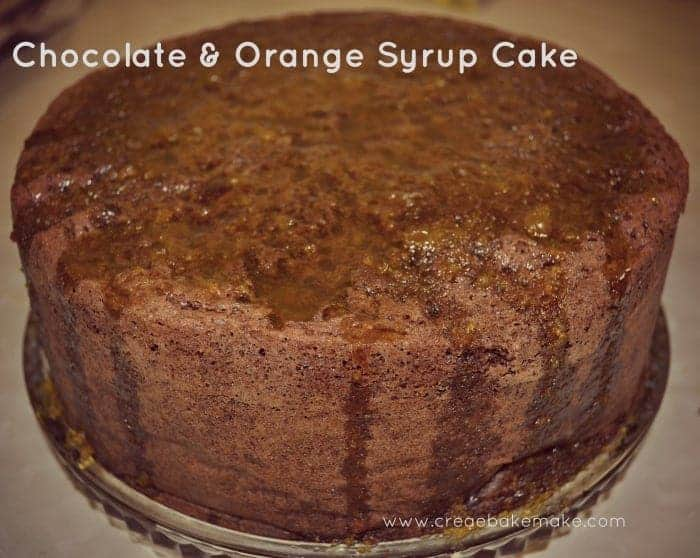 Chocolate Cake with Orange Syrup