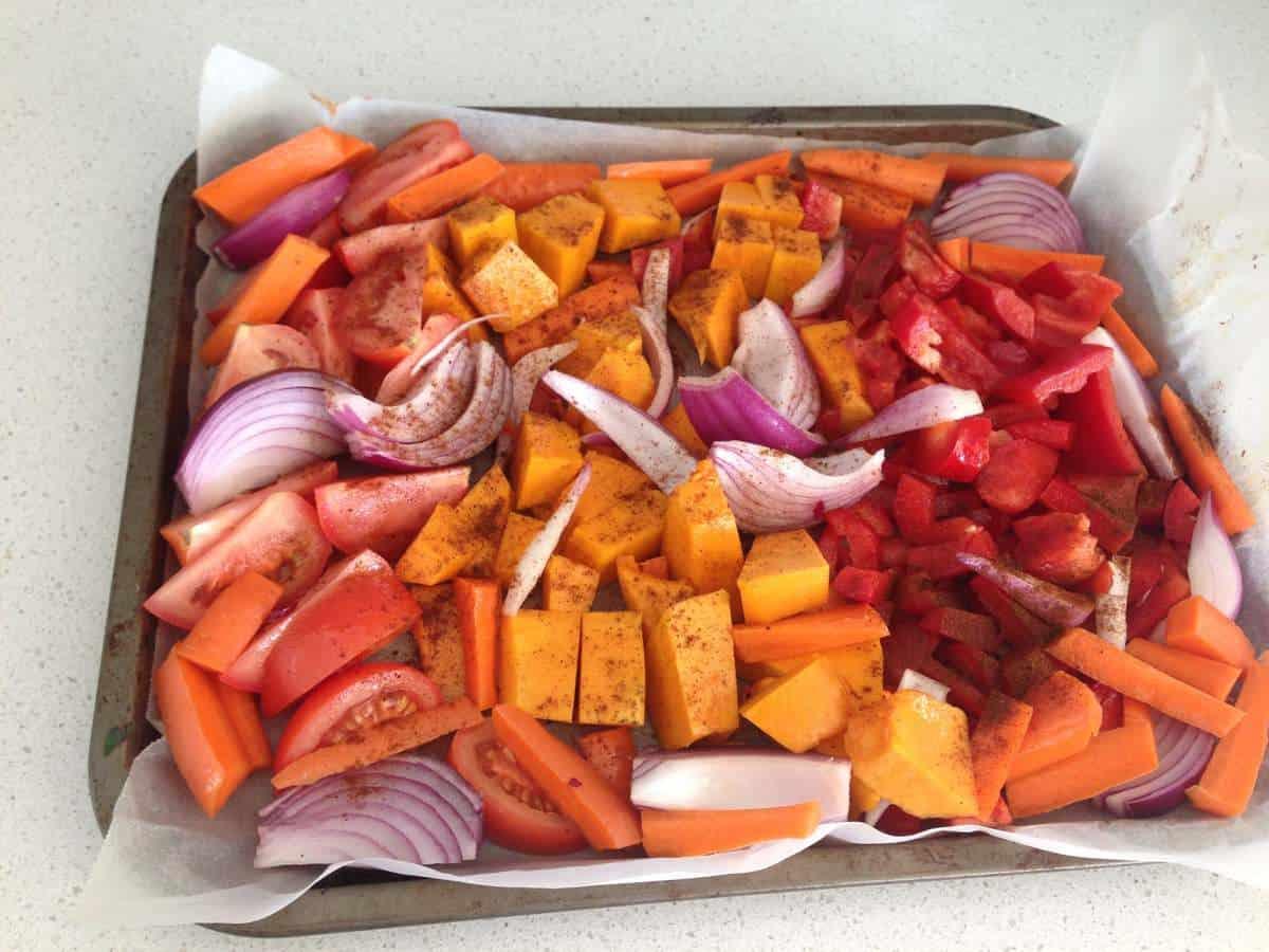 Our leftover vegetables