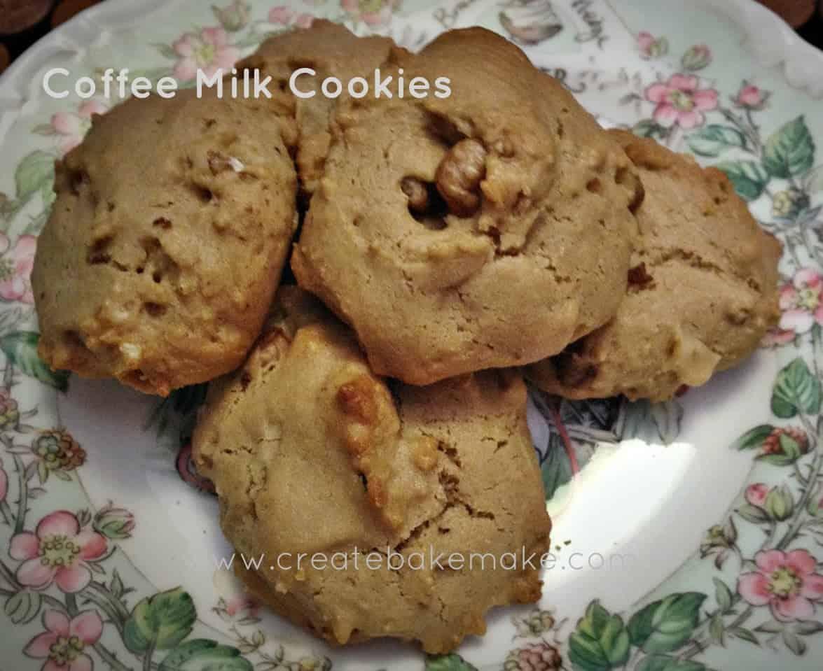 Coffee Milk Cookies