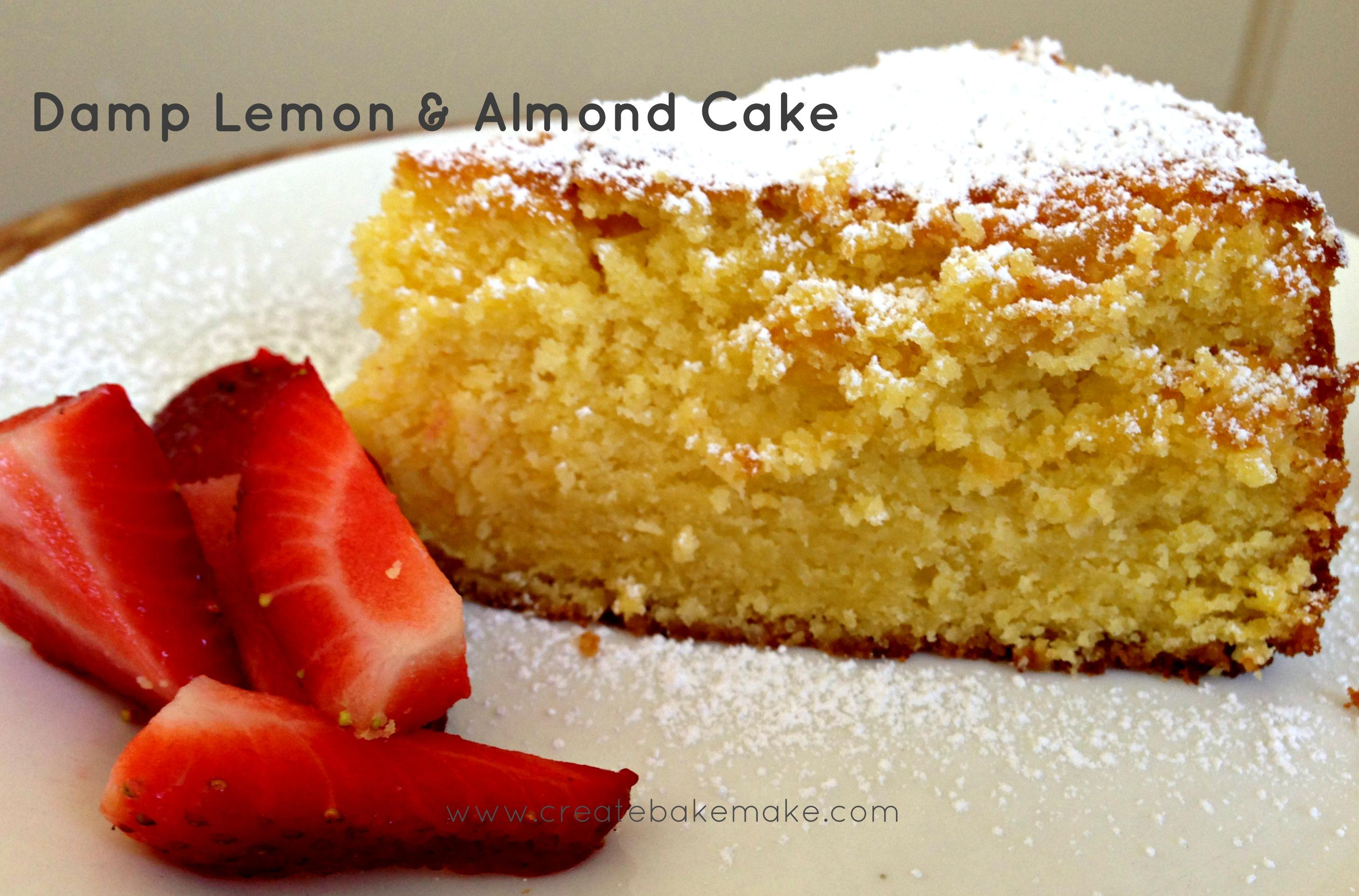 Nigella Lawson's Damp Lemon & Almond Cake (from How to be a Domestic ...