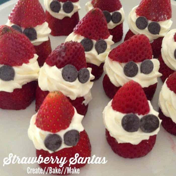 Strawberry Santa Dessert