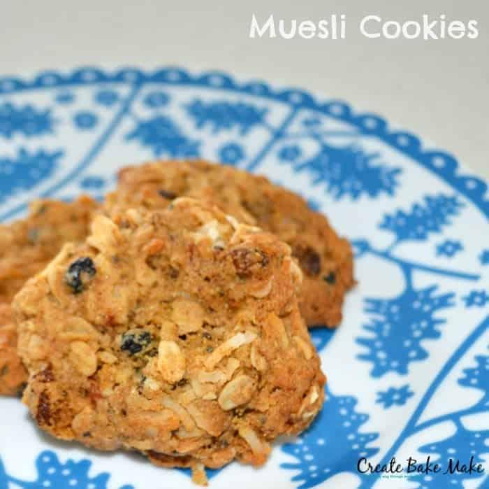 Muesli Cookies Feature