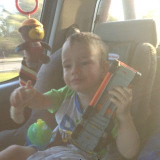 Surviving a road trip with a toddler & baby