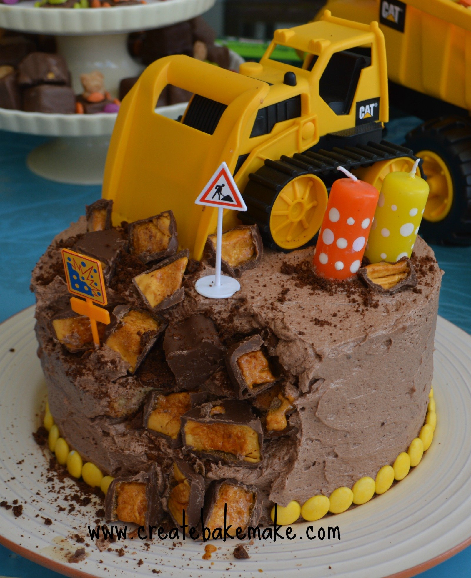 Excellent A Construction Party Create Bake Make Funny Birthday Cards Online Elaedamsfinfo