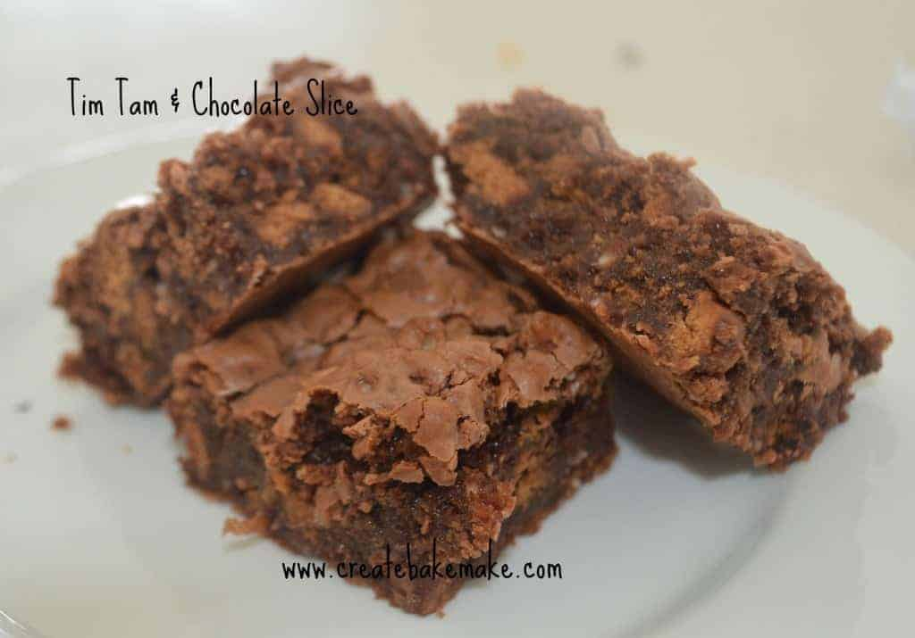 Tim Tam and Chocolate Slice Recipe