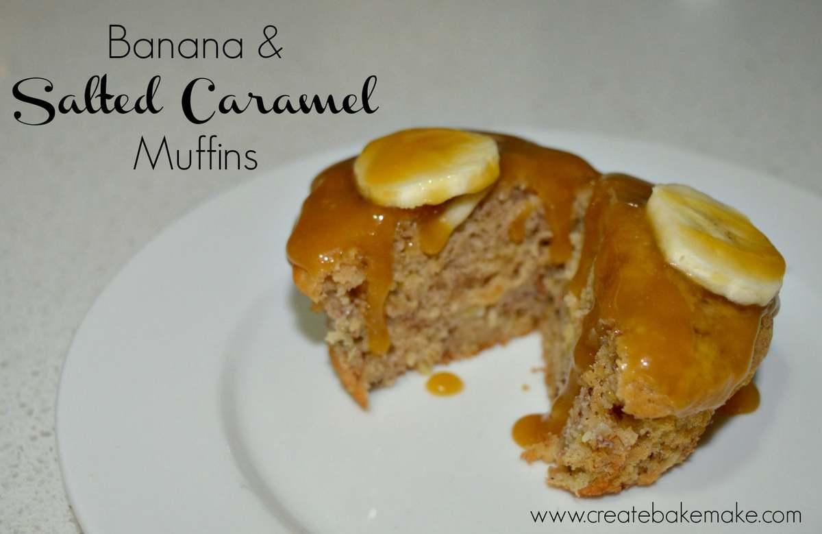Banana & Salted Caramel Muffins