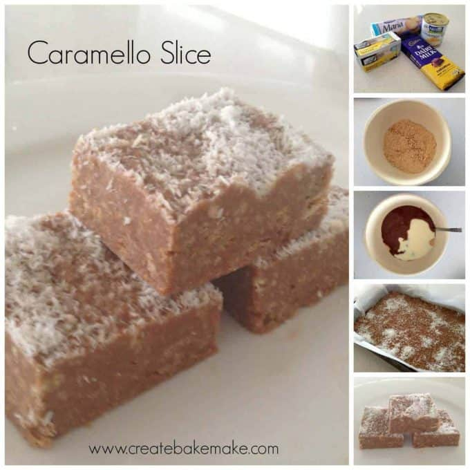 Caramello No Bake Slice