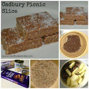 Cadbury Picnic Slice