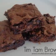 Tim Tam Brownies