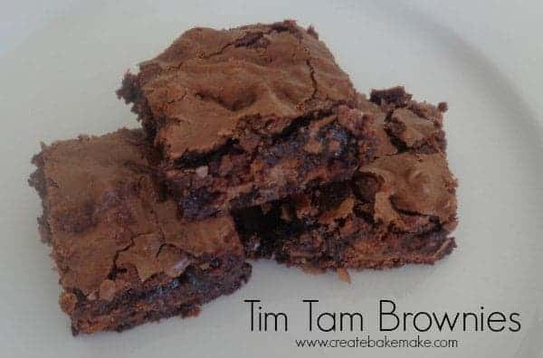 Tim Tam Brownies
