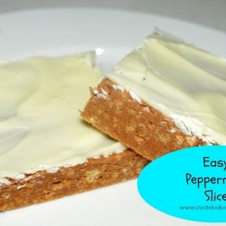 Easy Peppermint Slice