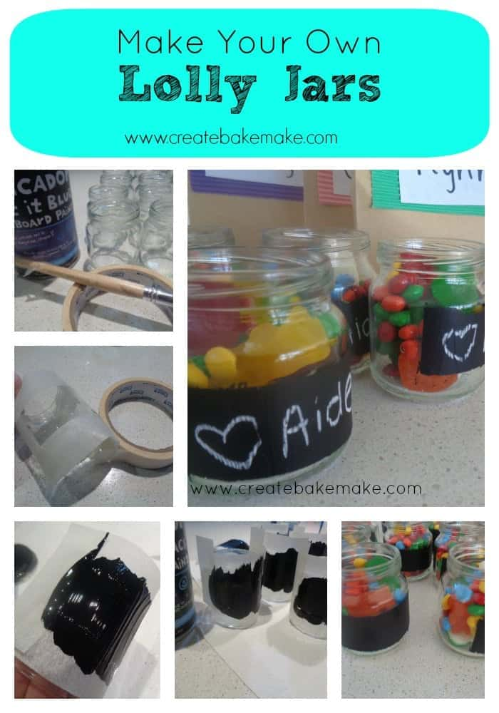 Lolly Jar Collage