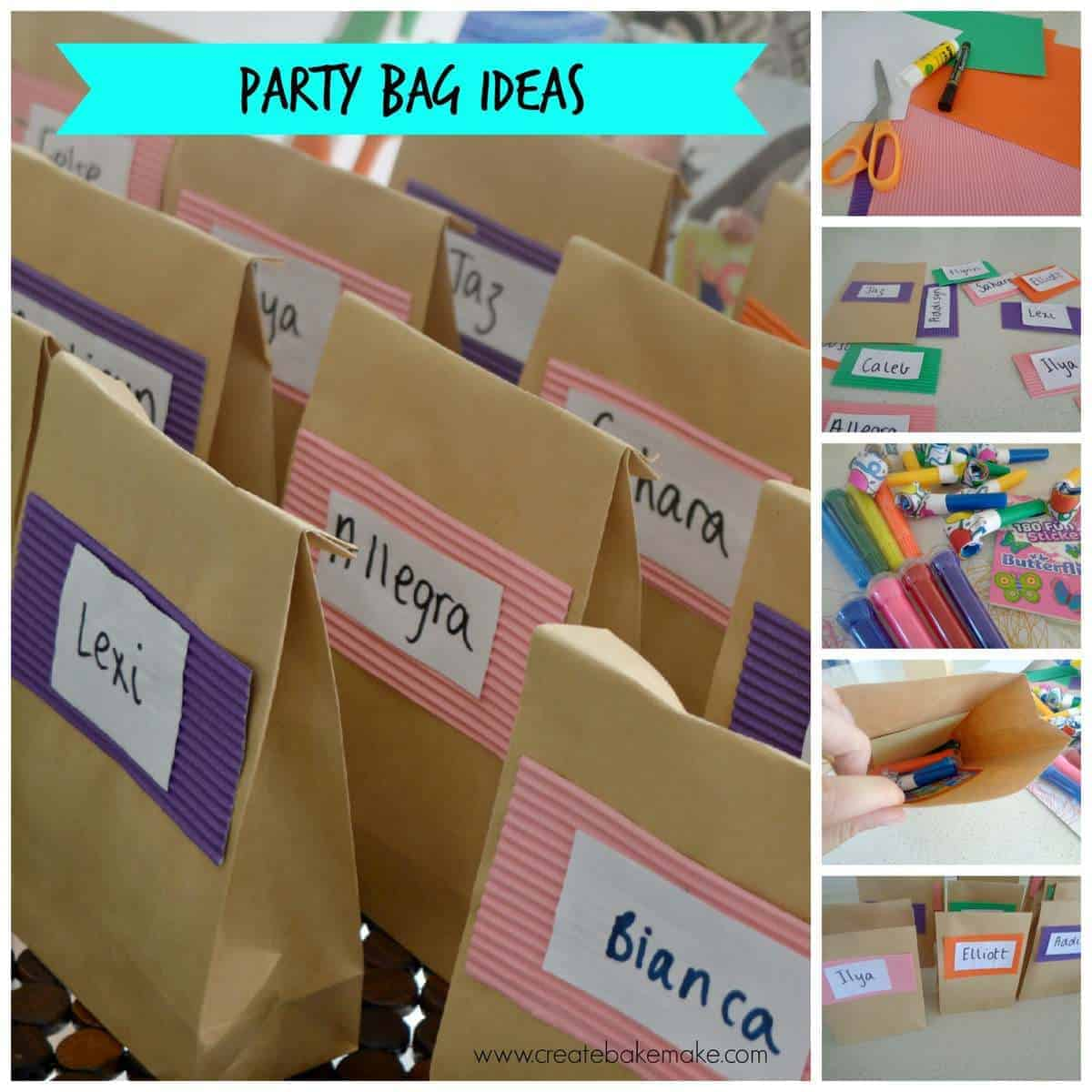 Make your own Party Bags!