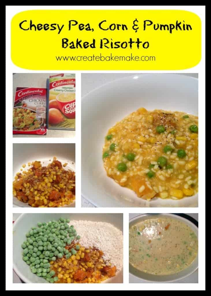 Baked Risotto Collage
