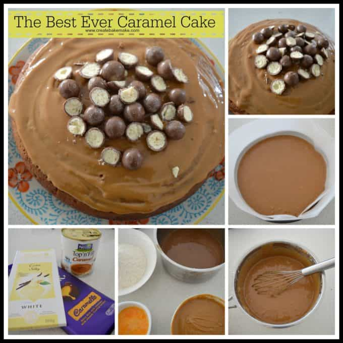 Best Ever Caramel Cake