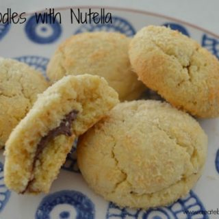 Snickerdoodles with Nutella