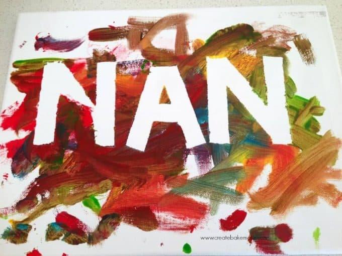 canvas title