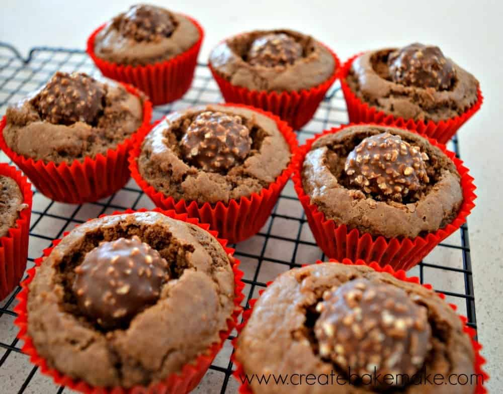 ferrero rocher cupcakes 1