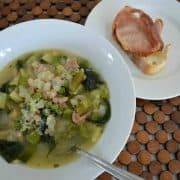 Minestrone Soup with Greens and Beans