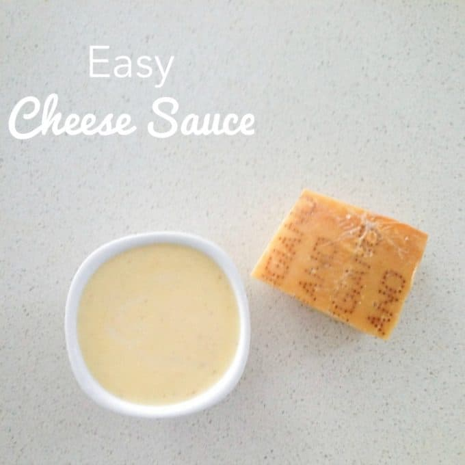 Simple Cheese Sauce