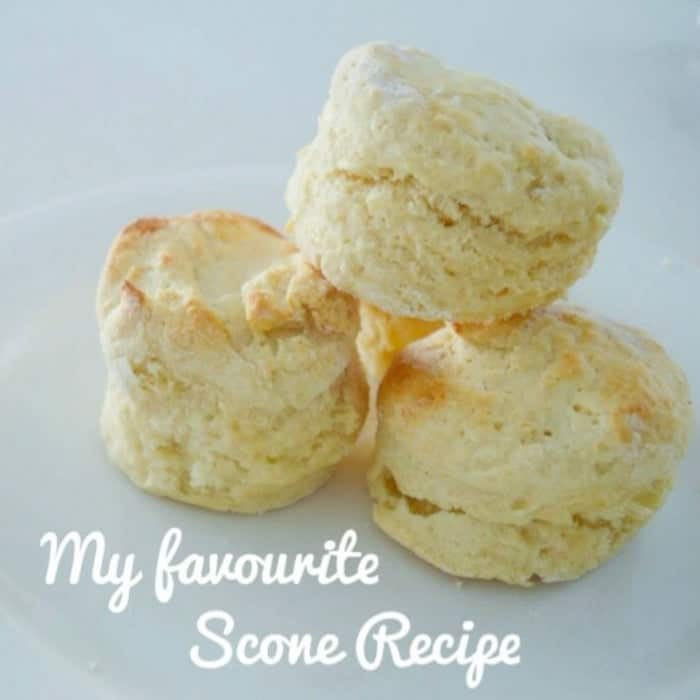What's making me happy and my favourite Scone recipe.