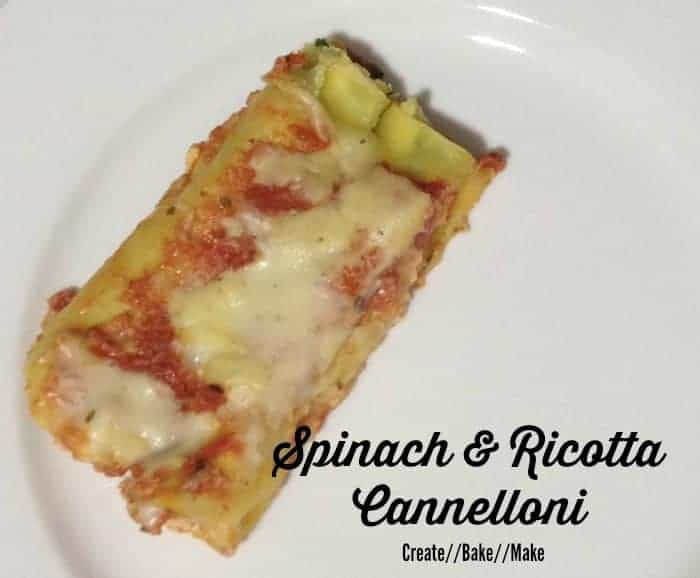 Spinach and Ricotta Cannelloni Feature Pic Final