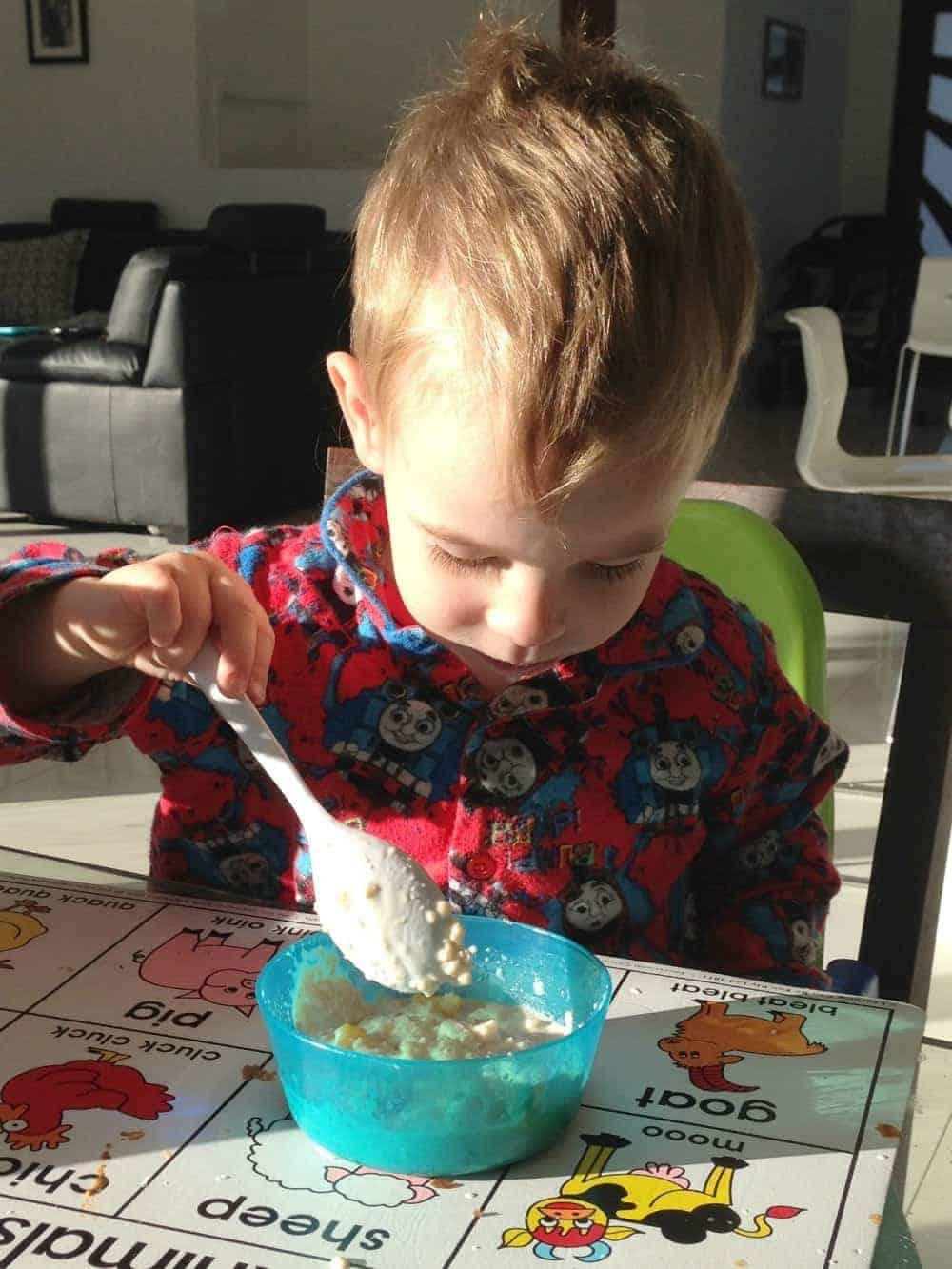 Our Mornings and a Uncle Tobys Quick Oats Review