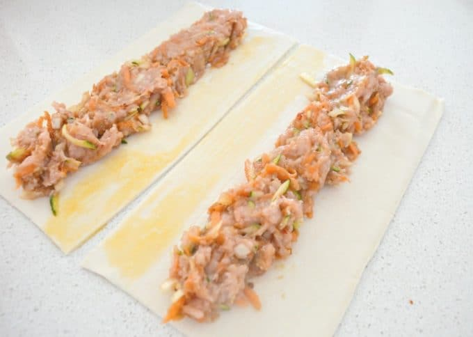 chicken sausage rolls1