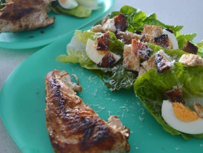 Chicken Caesar Salad 4