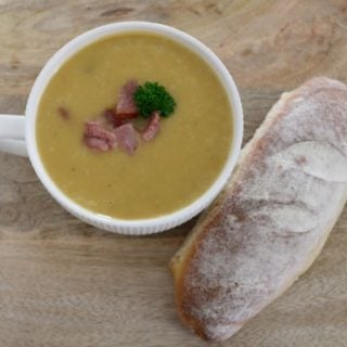 How to make Ham Potato and Leek Soup - a great family soup recipe