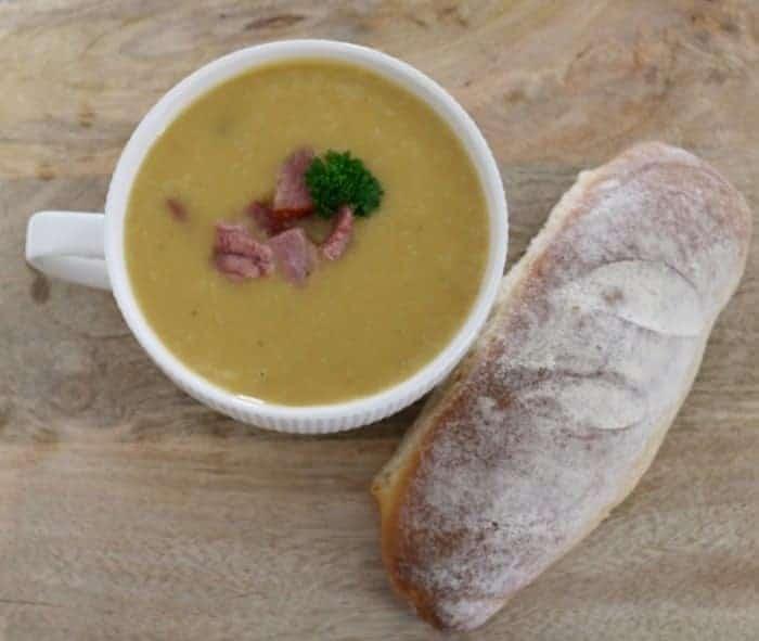 Ham, Potato and Leek Soup