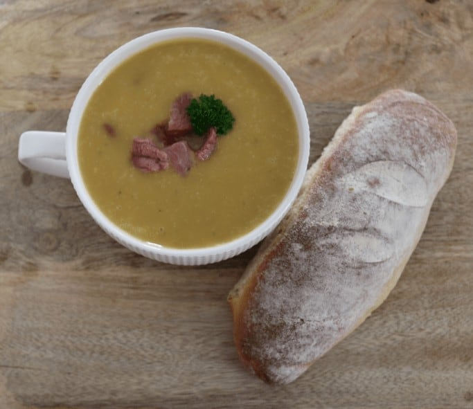 How to make Ham Potato and Leek Soup