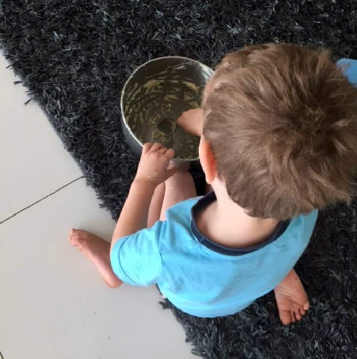 Baking with kids 4