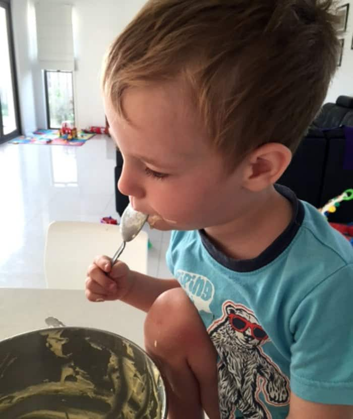 Baking with kids 5