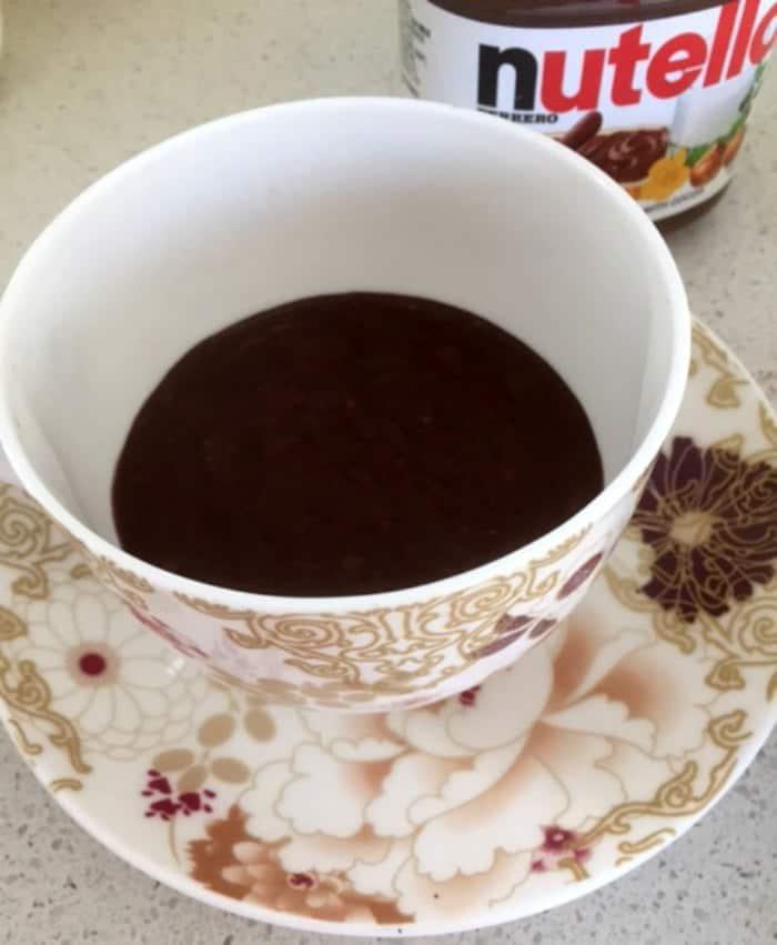 Nutella Mug Cake 2