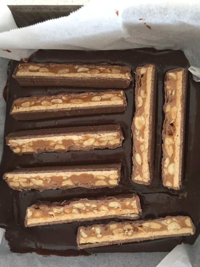 Snickers brownies 1