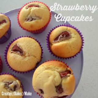 Strawberry Cupcakes – Fabulous Foodie Fridays #24