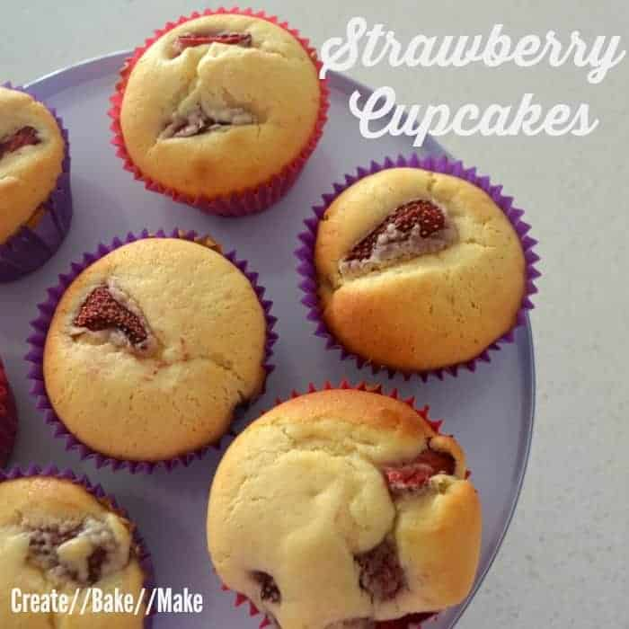 Strawberry Cupcake Feature