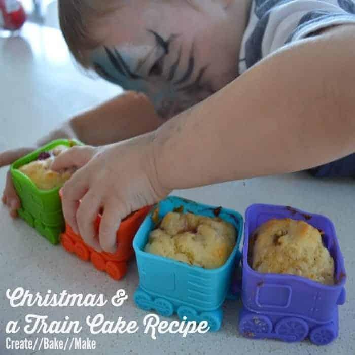 Train Cake Feature