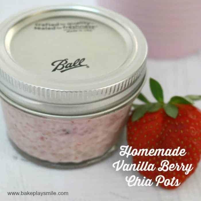 Homemade Vanilla Berry Chia Pods – Fabulous Foodie Fridays #25