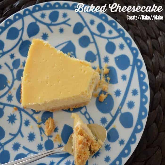 Baked Cheesecake Feature