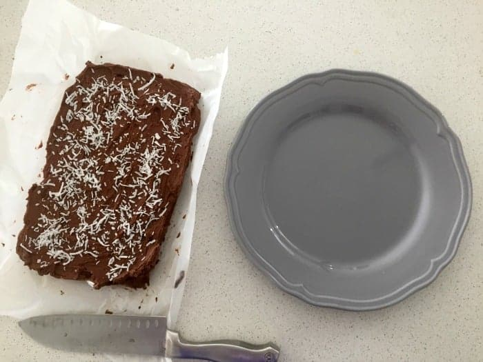 Chocolate and Coconut Slice 2