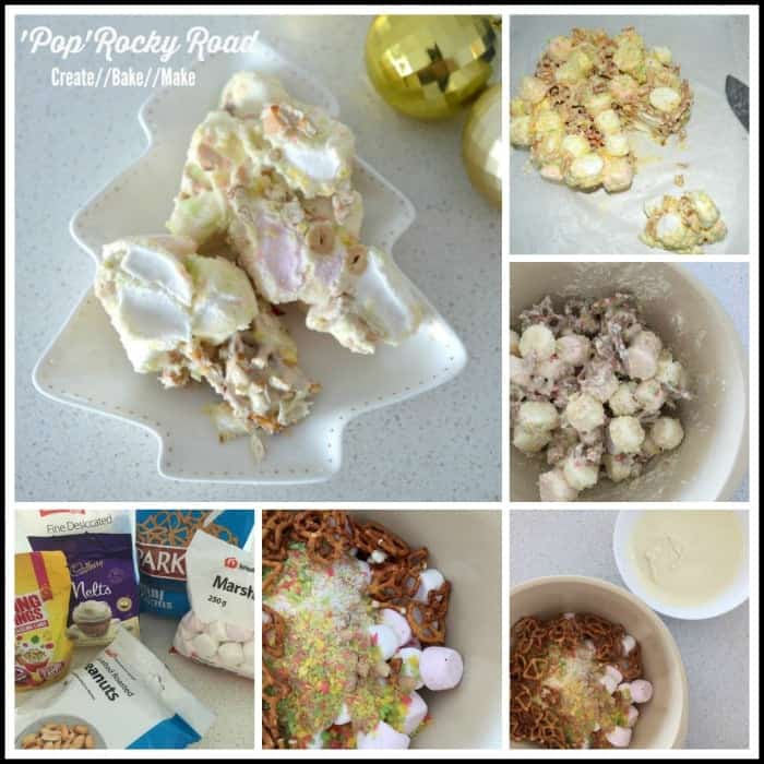 Pop Rocky Road Collage