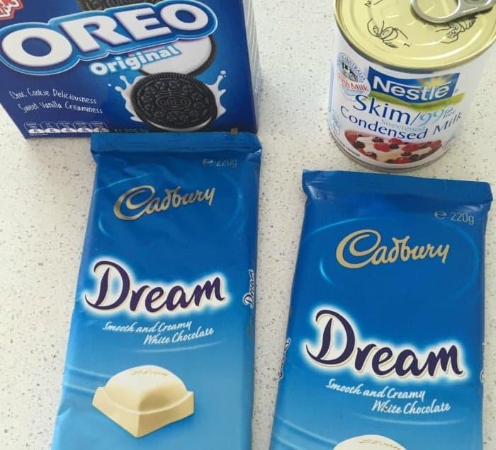 White Chocolate and Oreo Fudge 3